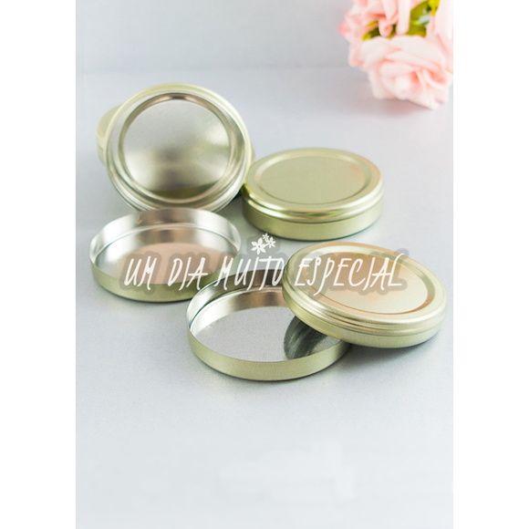 20 unds Latinha Mint to Be Dourada