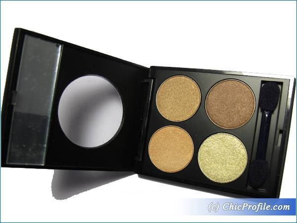 MustaeV Nude Quad Eye Shadow Palette Review, Swatches, Photos