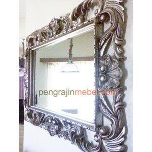 Cermin Hiasan Dinding, Cermin Hias Ruang Tamu Ukir
