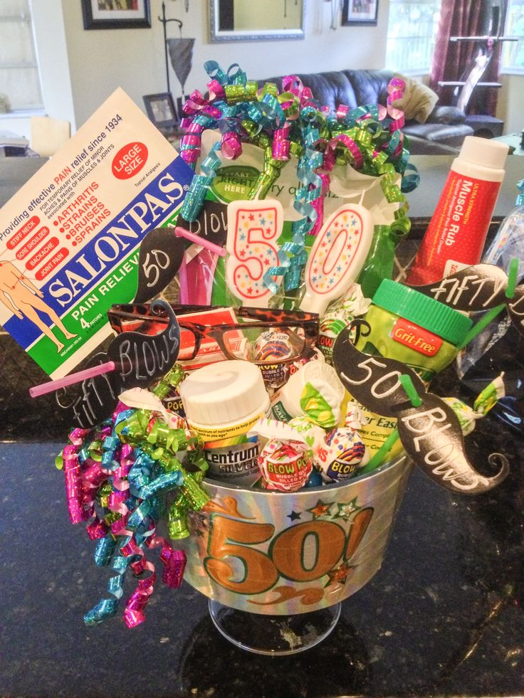 50th Birthday Gift Basket Ideas : Th birthday gift baskets pictures to pin on