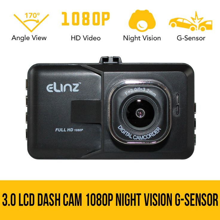3.0 LCD Dash Cam Camera Video Car DVR Recorder 1080P HD Night Vision G-sensor