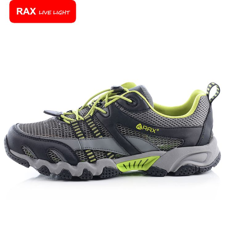 RAX New Outdoor Trekking Shoes Men Lightweight Trekking Shoes Quick-Drying Breathable Men Aqua Water Shoes Summer Shoes 32-5K115