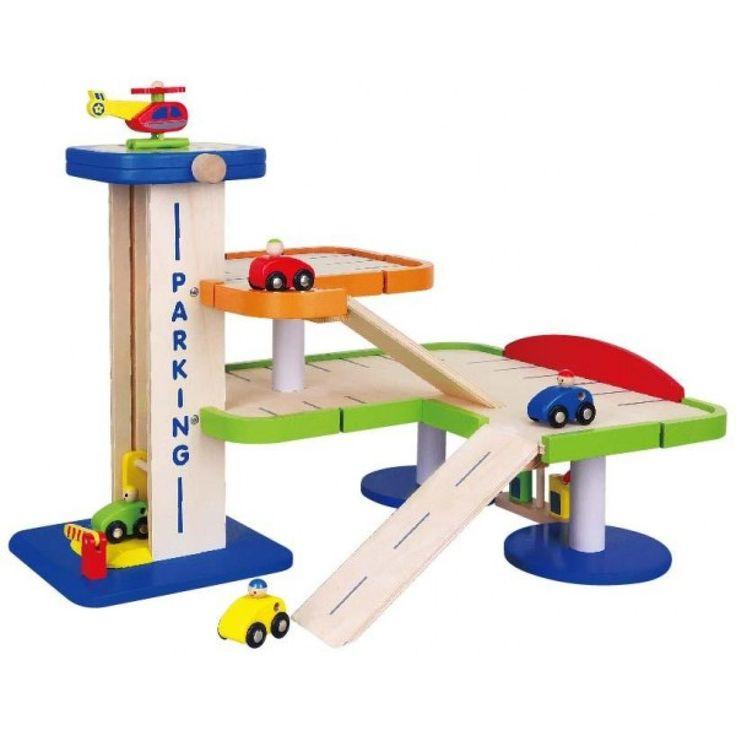 Toy Car Garage, Large