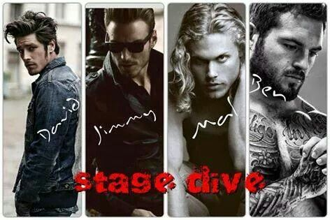Stage Dive!>>>> pretty apt of how i picture them... noms!