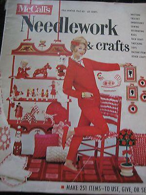 FALL-WINTER-1962-1963-McCalls-Needlework-Crafts-Magazine-Fashions-Knit-Crochet