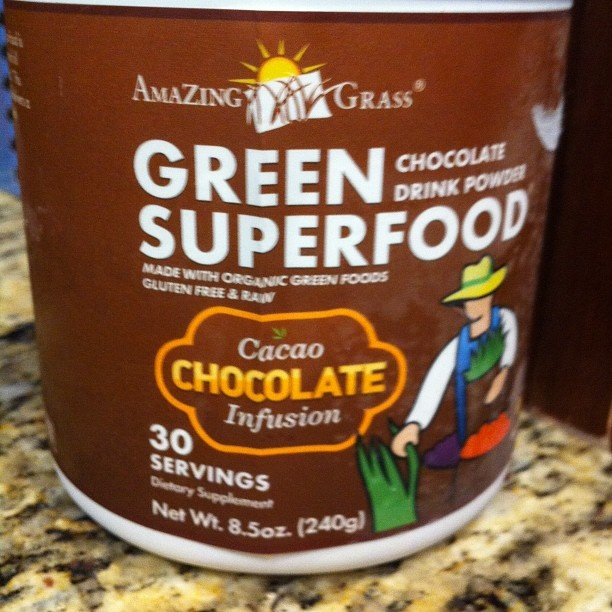 #amazinggrass is the perfect pre-workout breakfast for me because I dont like a lot of food in my belly when I work out & this stuff energizes me!!! Just mix w some coconut milk or almond milk. Easy. Fast.