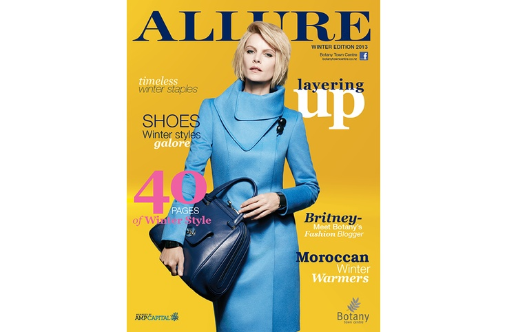 Love this Mag!!  Allure Magazine   Botany Town Centre