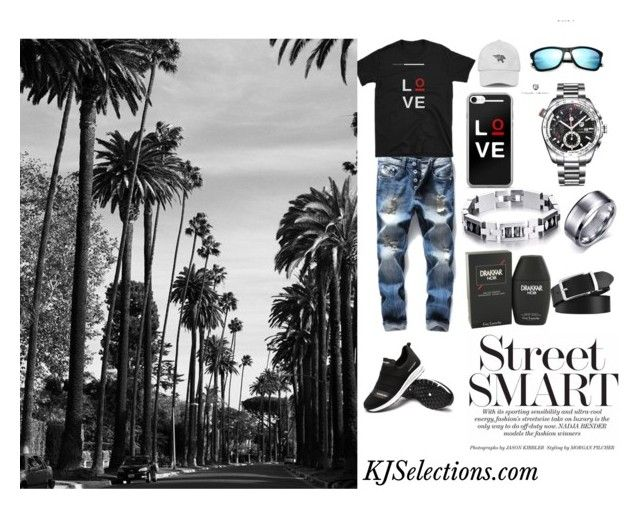 """""""Men's Hot Forever In Love Outfit"""" by kjselections ❤ liked on Polyvore featuring men's fashion and menswear"""