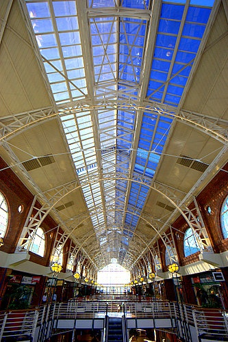 Cape Town, more notably, Victoria Wharf Shopping Centre, my 'other' home - the V & A Waterfront.
