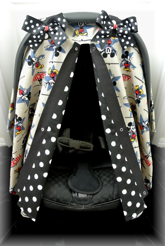 mickey mouse carseat canopy car seat cover by jaydenandolivia baby pinterest. Black Bedroom Furniture Sets. Home Design Ideas