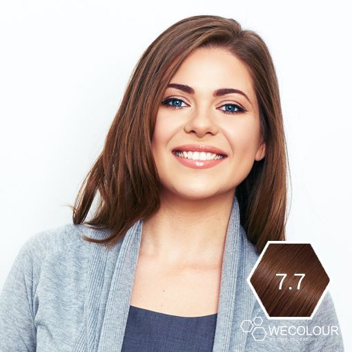 Haarkleur 7.7 Caramel donkerblond