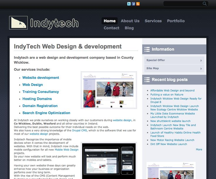 We Would highly recommend these guys for website design. Wicklow Web Design Mobile Websites www.indytech.ie