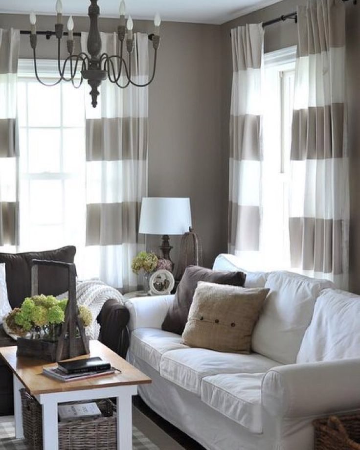 Love the curtains and grey wall!  Double tab for more images.  #fortheloveoflinen #linen #linencurtain #tellmemore #interior4all #drapes #pureline #purelinenutrition #interiordecor #bedroomdecor #bedroominspiration #handmade #handmadebedding  #tailoredmade #instadaily #curtains