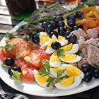 Snelle salade niçoise - recept - okoko recepten