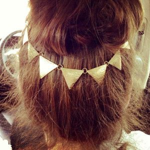 Pretty triangles hair accessory #headband