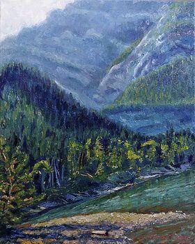 Barrier Lake by Heather Kemp