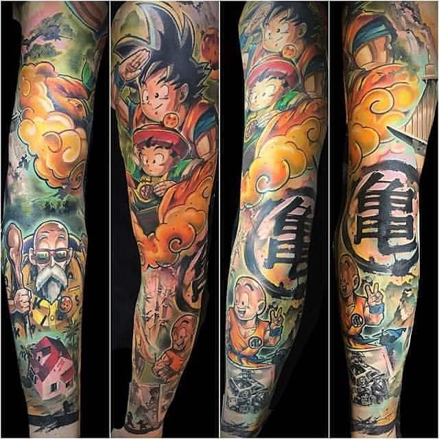 The Very Best Dragon Ball Z Tattoos Dragon Ball Tattoo Z Tattoo Dbz Tattoo