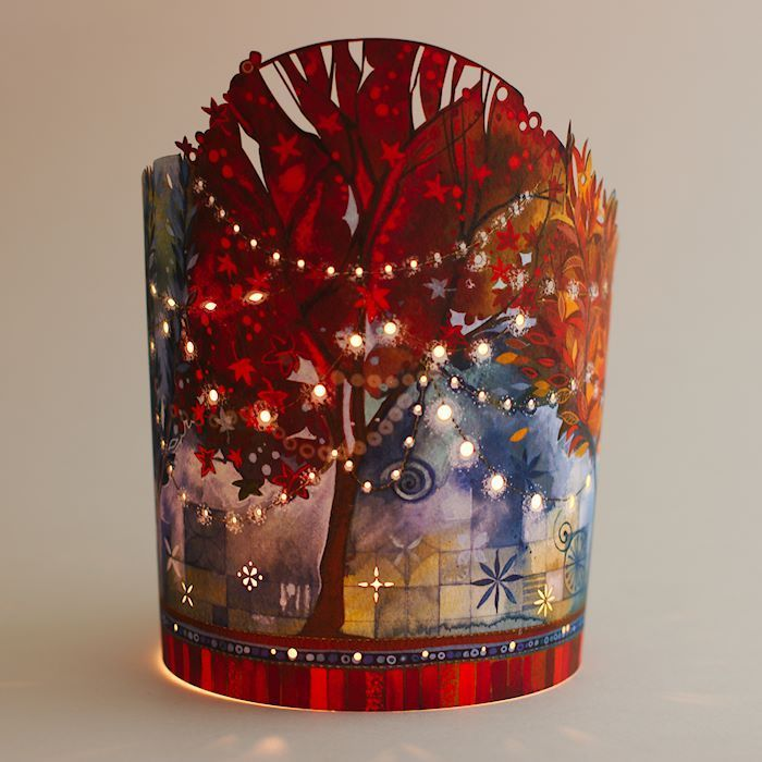 fairy lights paper lantern by kate lycett - This gorgeous paper lantern is  designed by Kate Lycett and inspired