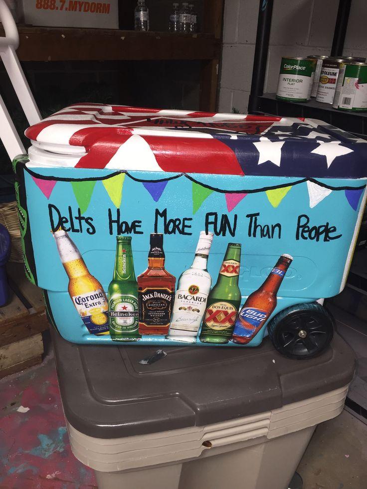 Delta Tau Delta Cooler