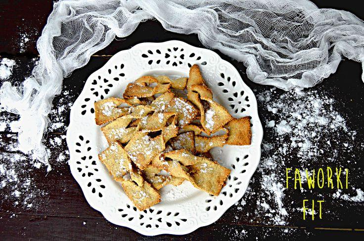 Pełnoziarniste dietetyczne faworki pieczone w piekarniku | – Dietetyczne przepisy –