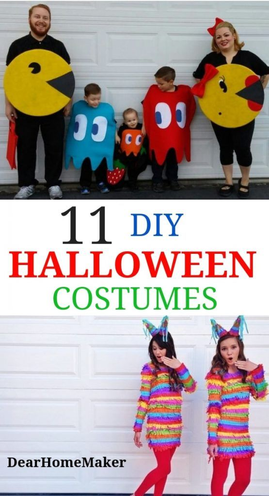 11 DIY Halloween Costumes Ideas for this party ***Costume ideas - super easy halloween costume ideas
