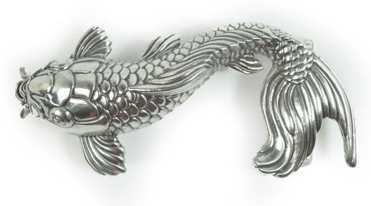 Schließe Buckle Gürtel-Schnalle Koi Fisch Wechselschließe Designer Schnallen  | eBay