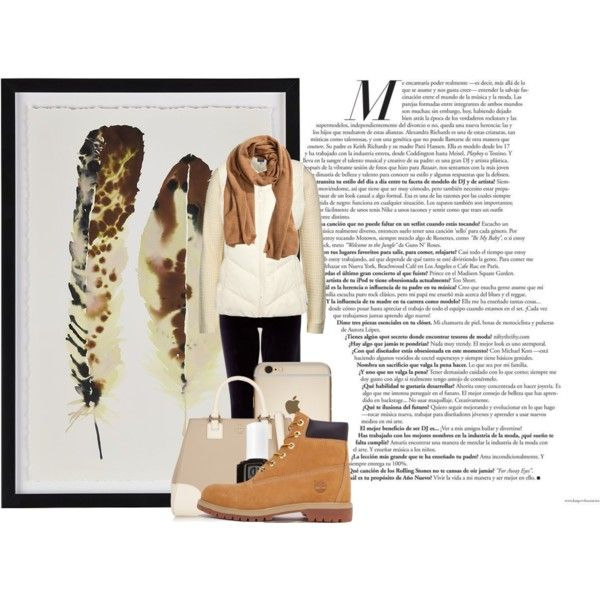 Follow the feather by aroselind on Polyvore featuring polyvore fashion style Vero Moda Joules Monsoon Timberland Tory Burch H&M Essie Crate and Barrel black brown khaki timberlands