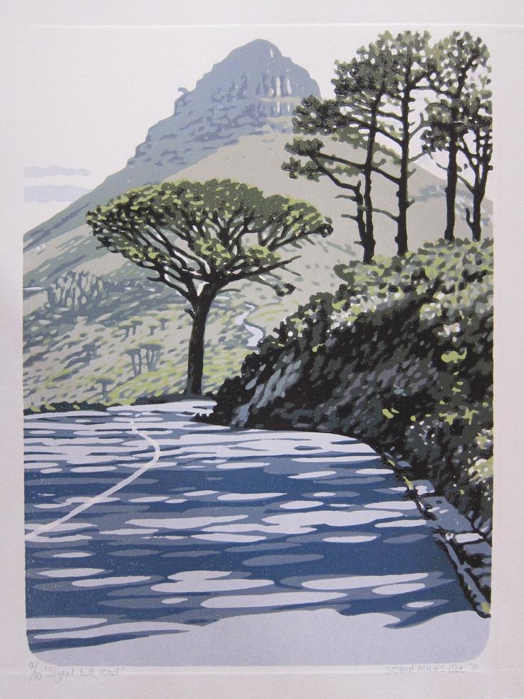 Signal Hill Road by Joshua Miles http://printgallery.co.za/portfolio.php?users_id=777
