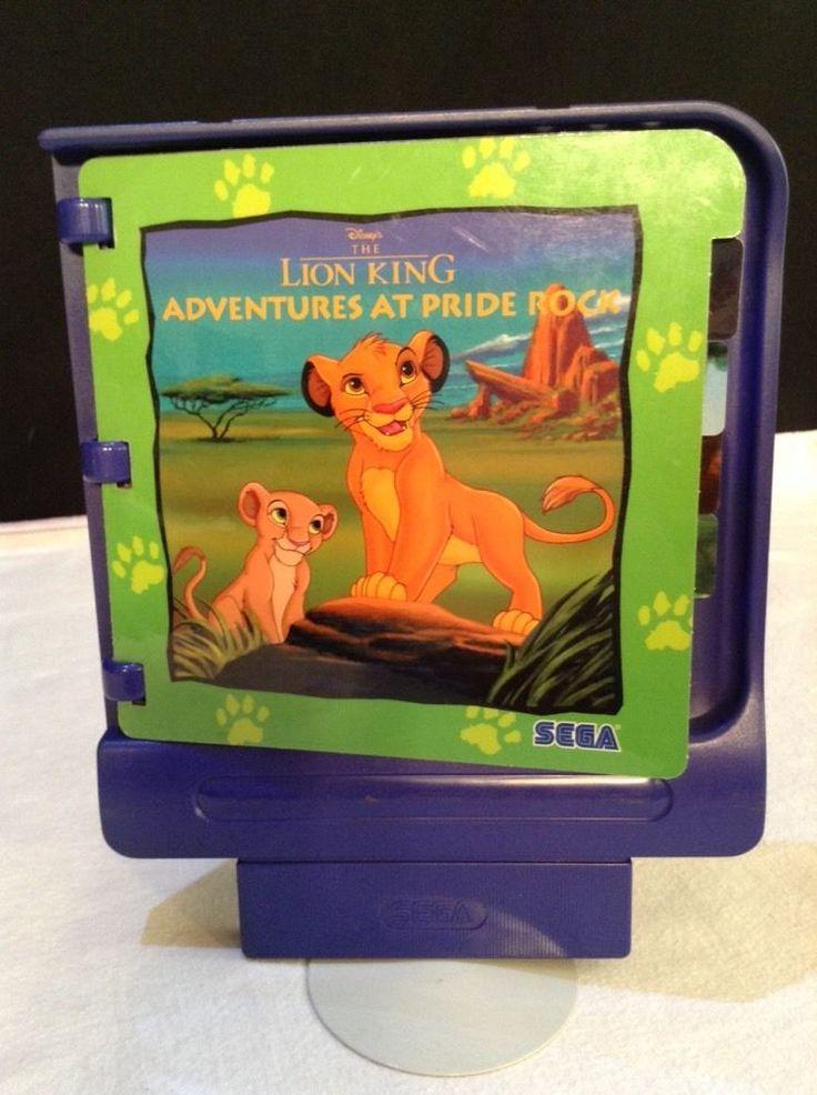 Sega PICO Storyware - The Lion King Adventures At Pride Rock Game Cartridge 3-7