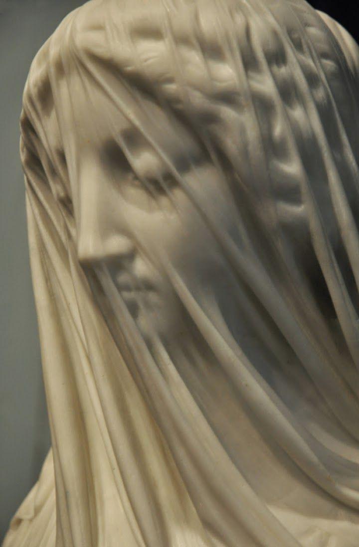 Virgen con velo, Giovanni Strazza