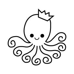Best 25 cute octopus tattoo ideas on pinterest for Cute octopus drawing
