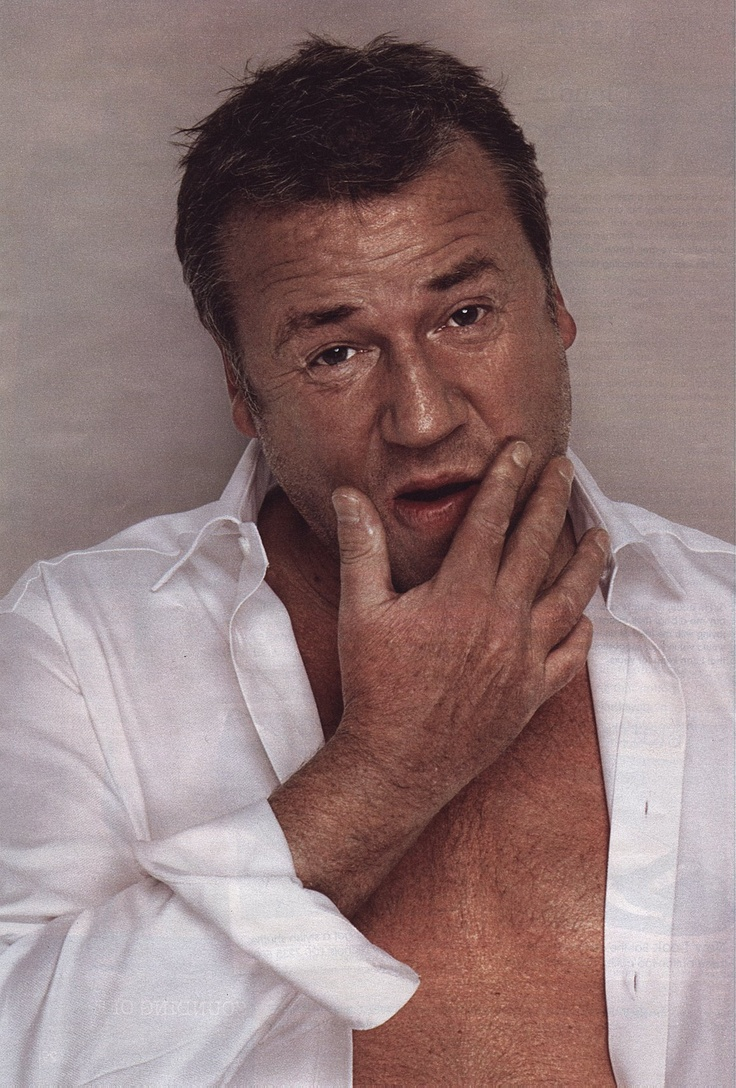 Talented British 'hard man' actor Ray Winstone. 'Who's the Daddy!'  Georgia's dad, Frank Layton