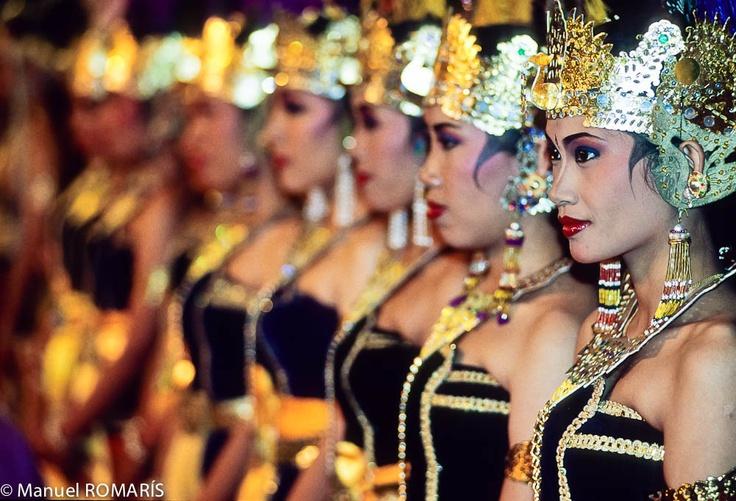 Javanese dancers.