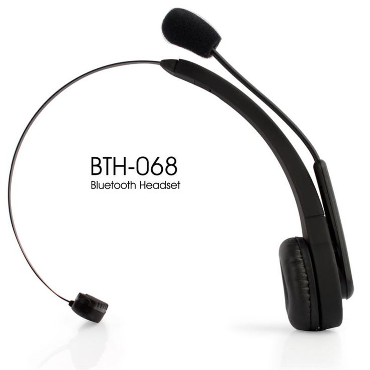 Brand New BTH-068 Bluetooth Wireless Headset Long Standby Time BT Earphone for PC PS3 Gaming Earbuds Smart Phones