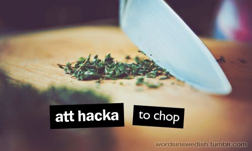 Promoting the beautiful language of Swedish using words and pictures with English translation.