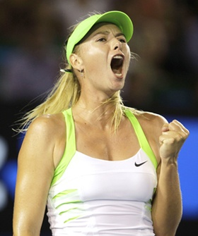 Maria Sharapova is ranked the #1 woman in tennis today.