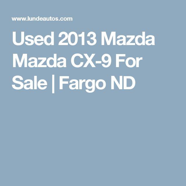 Used 2013 Mazda Mazda CX-9 For Sale | Fargo ND