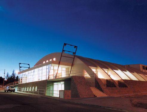 Centro cultural Caleta Olivia Archivo Clarín Arquitectura Siglo XXI