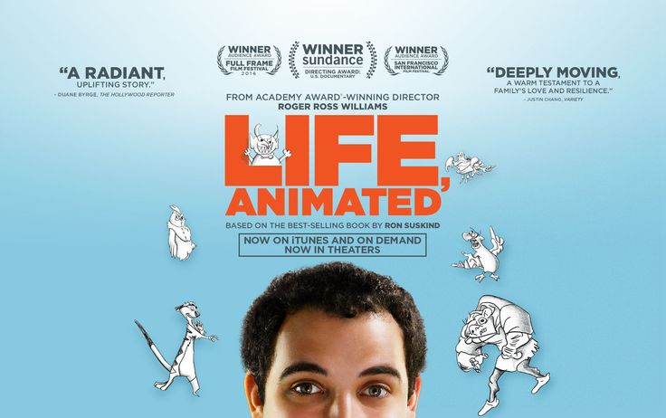 Wonderful documentary about an autistic boy who made sense of his world through Disney movies.