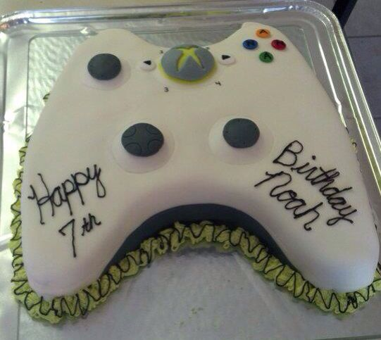 How To Make A Game Console Cake