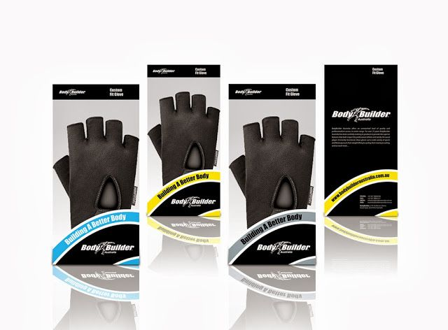 BodyBuilder Fitness Glove on Packaging of the World - Creative Package Design Gallery