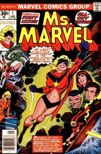 Ms. Marvel. Issue No. 1. Marvel Comics Group.