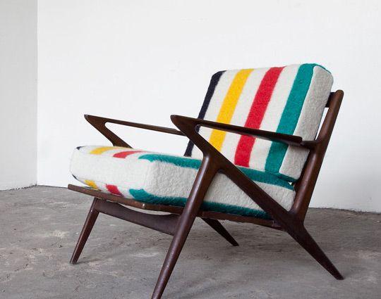 Hudson Bay Blanket Chair Part 98