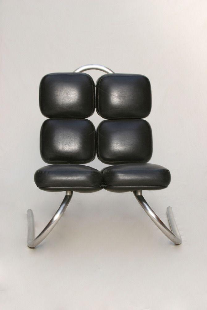 années 60, france, sièges, fauteuil fourmi, jean dudon