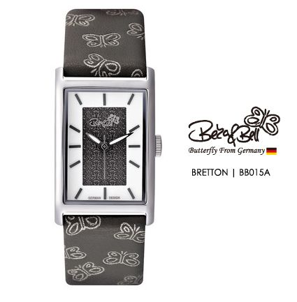 BRETTON BB015A   | Meterail:316L Stainless Steel  | Movement: MIYOTA 2035  | Case Size: 22mm×35mm  | Band Size: 184mm  | Band: Butterfly Engraved Genuine Leather  | Glass: Hardened Mineral Crystal  | Water Resistance : 3 ATM