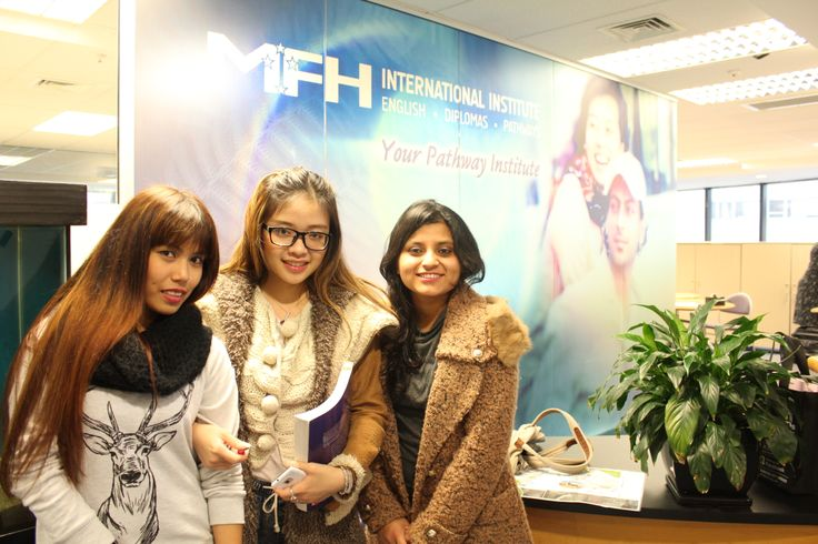 Our Diploma Students ( Philippine, Vietnamese and Indian student)