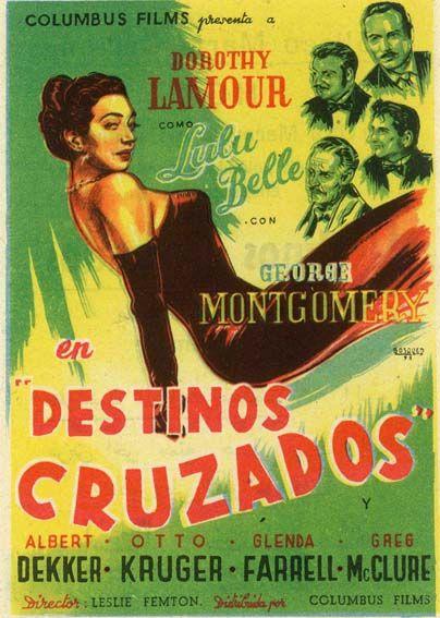 "Destinos cruzados (1948) ""Lulu Belle"" de Leslie Fenton - tt0040555"