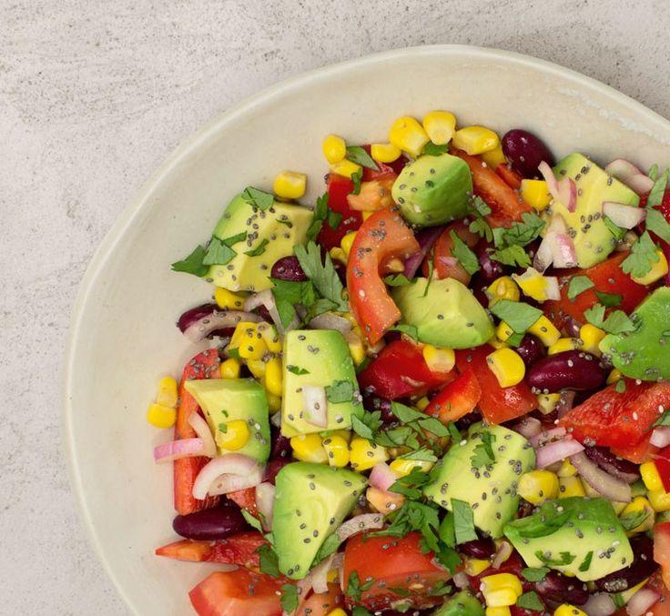 Power Salat! Unser Power Salat hält, was er verspricht: er spendet dir viel Kraft und ist richtig gesund.