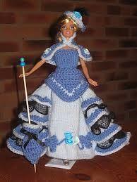 """Résultat de recherche d'images pour """"meuble de barbie au crochet"""""""