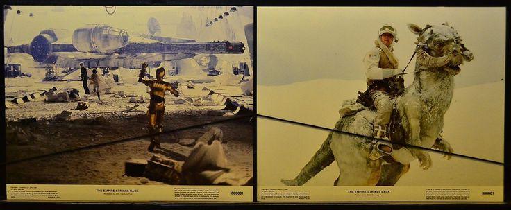 Episode V - The Empire Strike (1980) Movie Orig Lobby Card set of 8 Harison Ford | eBay